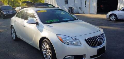 2012 Buick Regal for sale at Superior Motors in Mount Morris MI