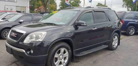 2011 GMC Acadia for sale at Superior Motors in Mount Morris MI
