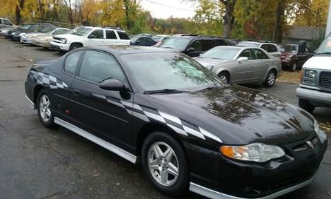 2001 Chevrolet Monte Carlo for sale in Mount Morris, MI