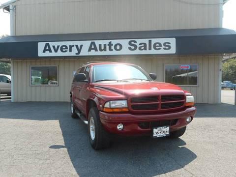 2000 Dodge Durango for sale in Sultan, WA