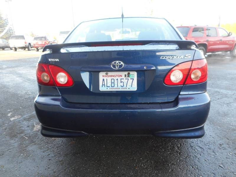 Toyota Corolla S In Sultan WA Avery Auto Sales LLC - 2006 corolla
