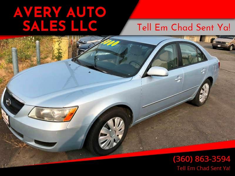 2007 Hyundai Sonata For Sale At Avery Auto Sales LLC In Sultan WA