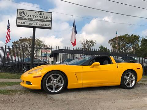 2005 Chevrolet Corvette for sale in Houston, TX