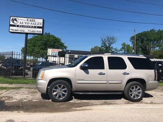 Suv Auto Sales Houston Tx: 2007 Gmc Yukon AWD Denali 4dr SUV In Houston TX
