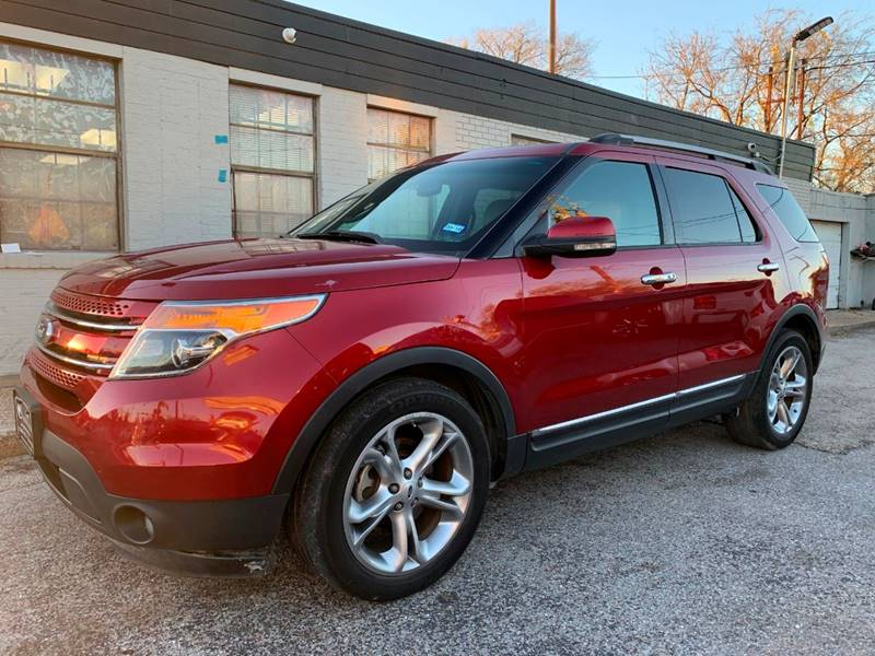Suv Auto Sales Houston Tx: 2013 Ford Explorer Limited 4dr SUV In Houston TX