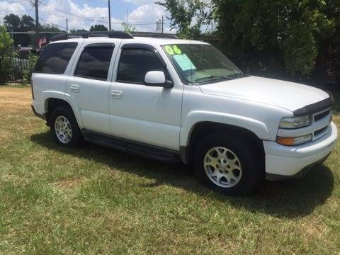 2006 Chevrolet Tahoe for sale at Yari Auto Sales in Houston TX