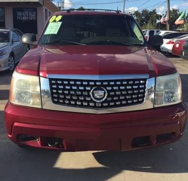 2004 Cadillac Escalade for sale at Yari Auto Sales in Houston TX