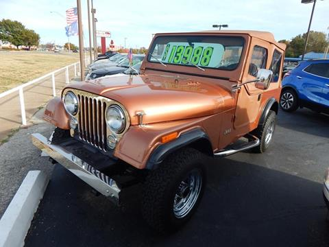 1983 Jeep CJ-7 for sale in Norman, OK