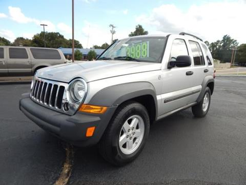 2005 Jeep Liberty Sport for sale at Wheels Of Norman LTD in Norman OK