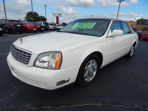 2004 Cadillac DeVille for sale at Wheels Of Norman LTD in Norman OK