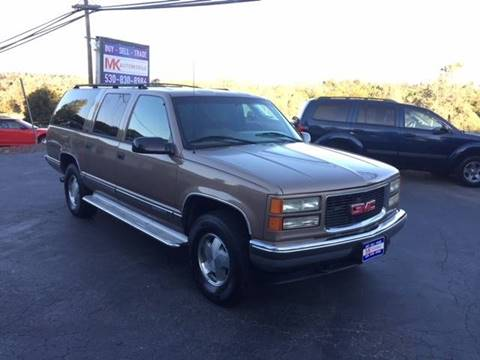 1996 GMC Suburban for sale in Auburn, CA