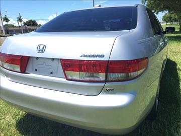 2004 Honda Accord for sale in Pompano Beach, FL