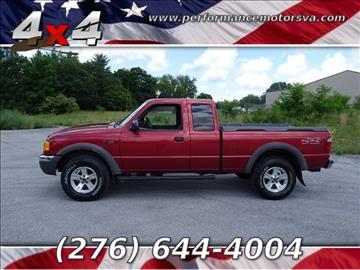 2002 Ford Ranger for sale in Bristol, VA