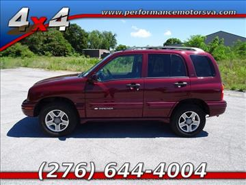 2003 Chevrolet Tracker for sale in Bristol, VA