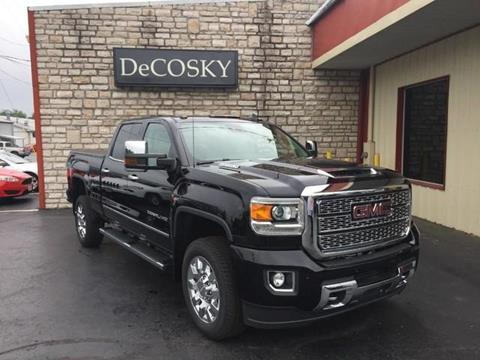 2018 GMC Sierra 2500HD for sale in Mount Vernon, OH