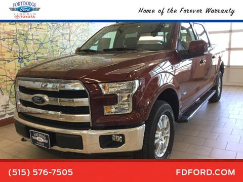 2017 Ford F-150 for sale in Fort Dodge, IA
