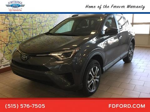 2017 Toyota RAV4 for sale in Fort Dodge, IA