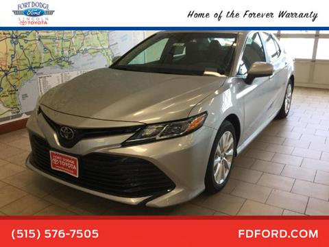 2018 Toyota Camry for sale in Fort Dodge, IA