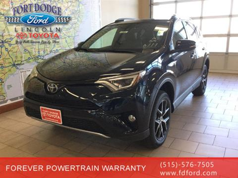 2018 Toyota RAV4 for sale in Fort Dodge, IA