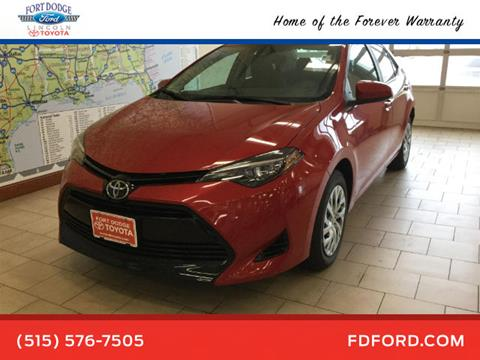 2018 Toyota Corolla for sale in Fort Dodge, IA