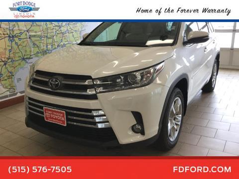 2017 Toyota Highlander for sale in Fort Dodge, IA
