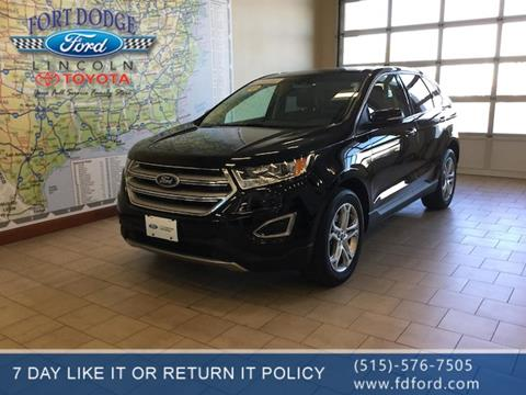 2017 Ford Edge for sale in Fort Dodge, IA