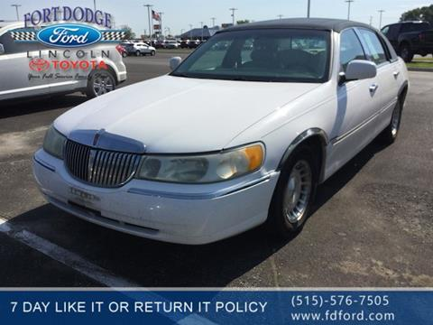 1998 Lincoln Town Car For Sale In Dayton Oh Carsforsale Com