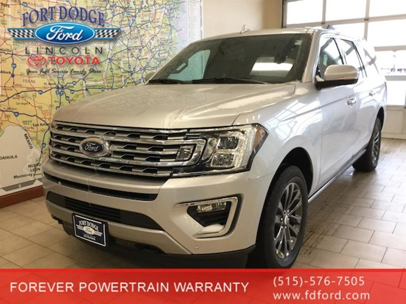 2019 ford expedition max 4x4 limited 4dr suv in fort dodge. Black Bedroom Furniture Sets. Home Design Ideas