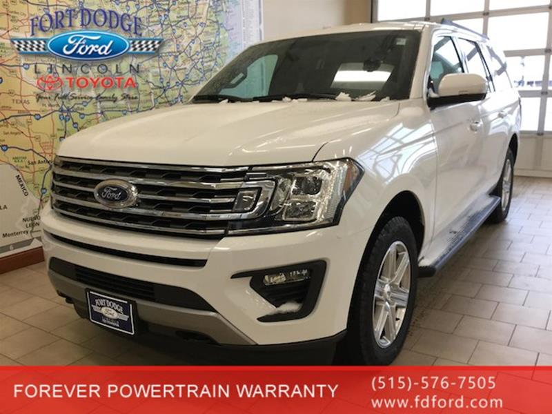 2019 ford expedition max 4x4 xlt 4dr suv in fort dodge ia. Black Bedroom Furniture Sets. Home Design Ideas
