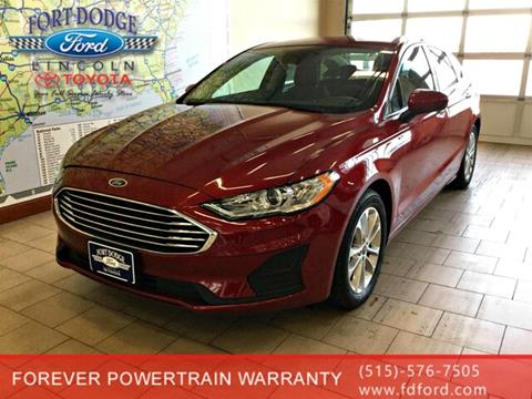 2019 Ford Fusion for sale in Fort Dodge, IA