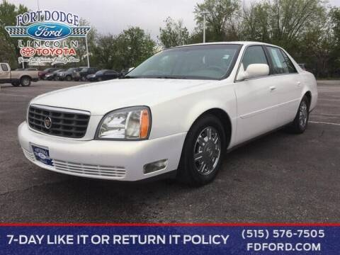 2004 Cadillac DeVille for sale at Fort Dodge Ford Lincoln Toyota in Fort Dodge IA