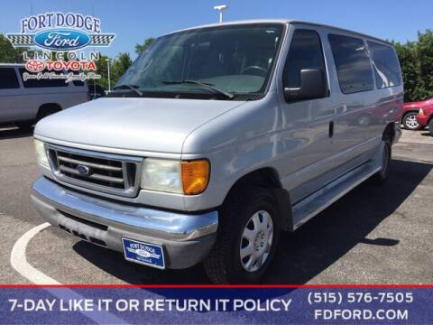 2006 Ford E-Series Wagon for sale at Fort Dodge Ford Lincoln Toyota in Fort Dodge IA