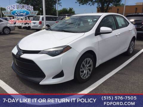 2019 Toyota Corolla for sale at Fort Dodge Ford Lincoln Toyota in Fort Dodge IA