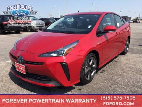 2020 Toyota Prius for sale at Fort Dodge Ford Lincoln Toyota in Fort Dodge IA