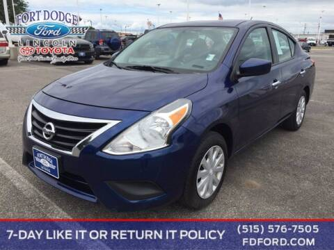 2018 Nissan Versa for sale at Fort Dodge Ford Lincoln Toyota in Fort Dodge IA