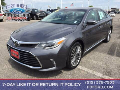 2016 Toyota Avalon for sale at Fort Dodge Ford Lincoln Toyota in Fort Dodge IA
