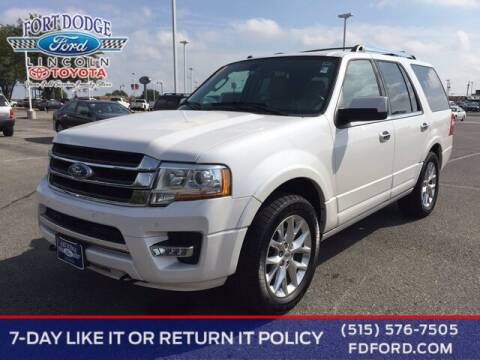 2017 Ford Expedition for sale at Fort Dodge Ford Lincoln Toyota in Fort Dodge IA