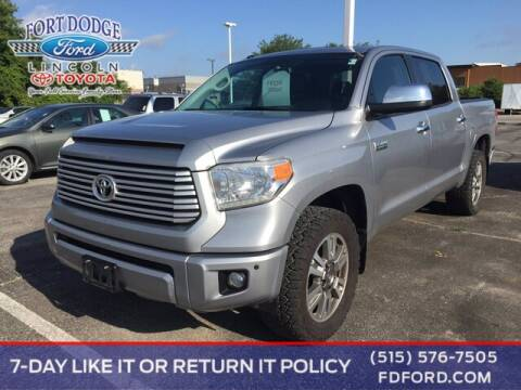 2016 Toyota Tundra for sale at Fort Dodge Ford Lincoln Toyota in Fort Dodge IA