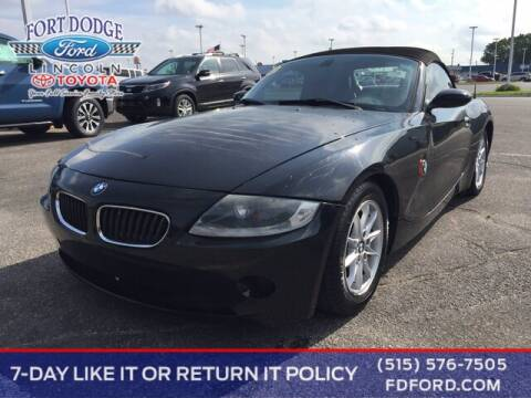 2004 BMW Z4 for sale at Fort Dodge Ford Lincoln Toyota in Fort Dodge IA