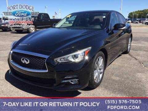 2015 Infiniti Q50 for sale at Fort Dodge Ford Lincoln Toyota in Fort Dodge IA