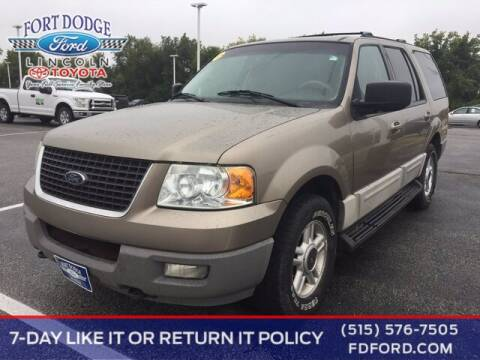2003 Ford Expedition for sale at Fort Dodge Ford Lincoln Toyota in Fort Dodge IA