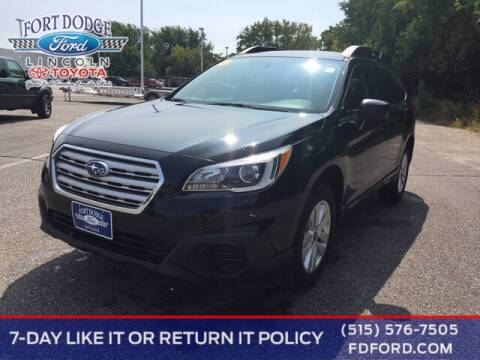 2017 Subaru Outback for sale at Fort Dodge Ford Lincoln Toyota in Fort Dodge IA