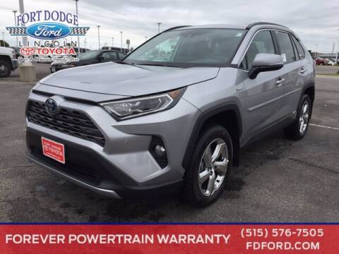2020 Toyota RAV4 Hybrid for sale at Fort Dodge Ford Lincoln Toyota in Fort Dodge IA