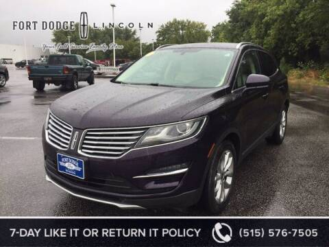 2015 Lincoln MKC for sale at Fort Dodge Ford Lincoln Toyota in Fort Dodge IA