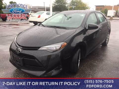 2017 Toyota Corolla for sale at Fort Dodge Ford Lincoln Toyota in Fort Dodge IA