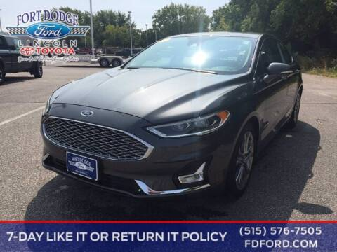 2019 Ford Fusion Hybrid for sale at Fort Dodge Ford Lincoln Toyota in Fort Dodge IA