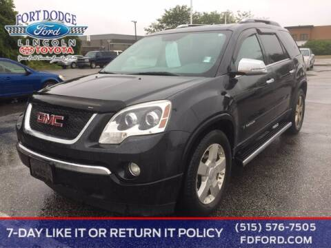 2007 GMC Acadia for sale at Fort Dodge Ford Lincoln Toyota in Fort Dodge IA