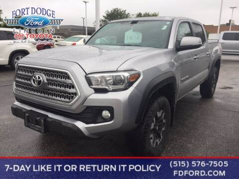 2017 Toyota Tacoma for sale at Fort Dodge Ford Lincoln Toyota in Fort Dodge IA