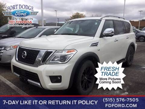2018 Nissan Armada for sale at Fort Dodge Ford Lincoln Toyota in Fort Dodge IA
