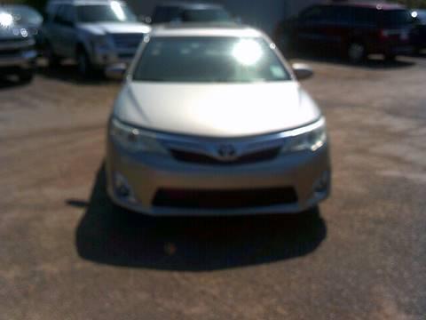 2013 Toyota Camry For Sale >> 2013 Toyota Camry For Sale In Richland Ms